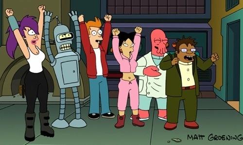 Rejoice, Futurama fans!
