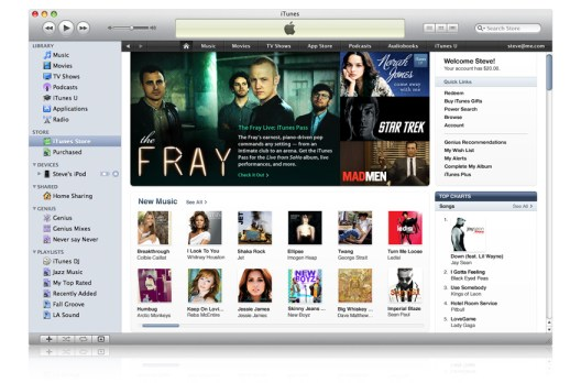 The new Apple iTunes 9