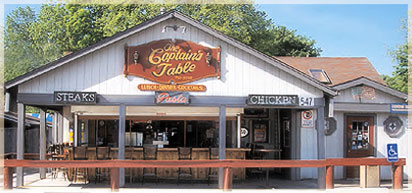 The Captains Table restaurant in Monroe, NY
