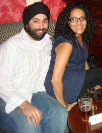 Reporter Raakhee Mirchandani & her fiancee