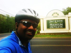 22 miles to Jackson NJ roundtrip