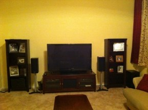 The new 2011 home theater setup