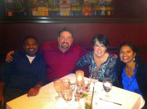 Dinner with Doug & Kathy @ Ruth's Chris Steakhouse