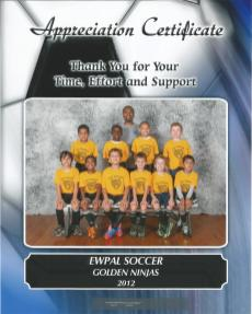 Fall 2012 Boys Soccer Group Picture