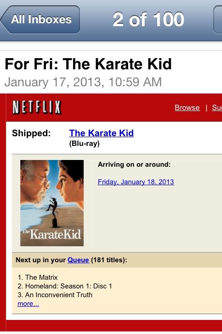 Ipe Family Movie Nite - The Karate Kid