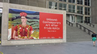 An art exhibit about Mexican artist Frida Kahlo.