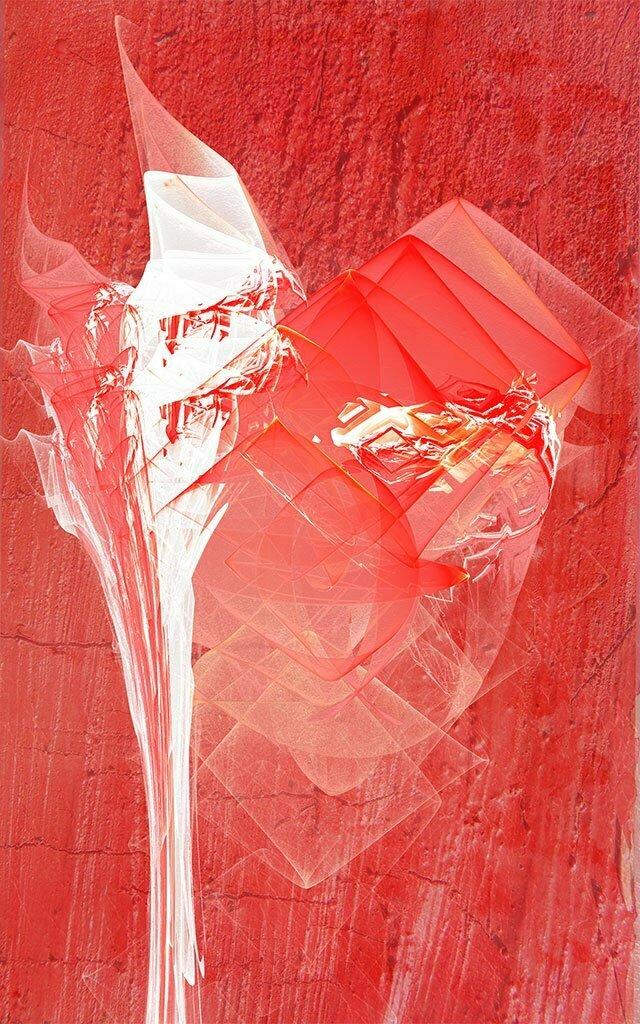 Rouge et blanc 5 jo lle acoulon for Bureau rouge et blanc