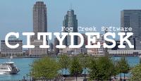 CityDesk 2.0 Splash Sceren