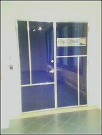 A picture of the new door