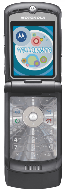 Picture of Motorola RAZR Cell Phone