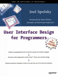 User Interface Design for Programmers cover