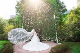 婚禮攝影 台中林皇宮花園 易霆+莞之 戶外證婚