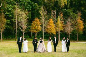 台北婚攝青青食尚花園 書華+瑞華 戶外證婚