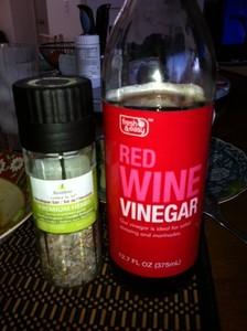 4hr body vinegar and herb salt