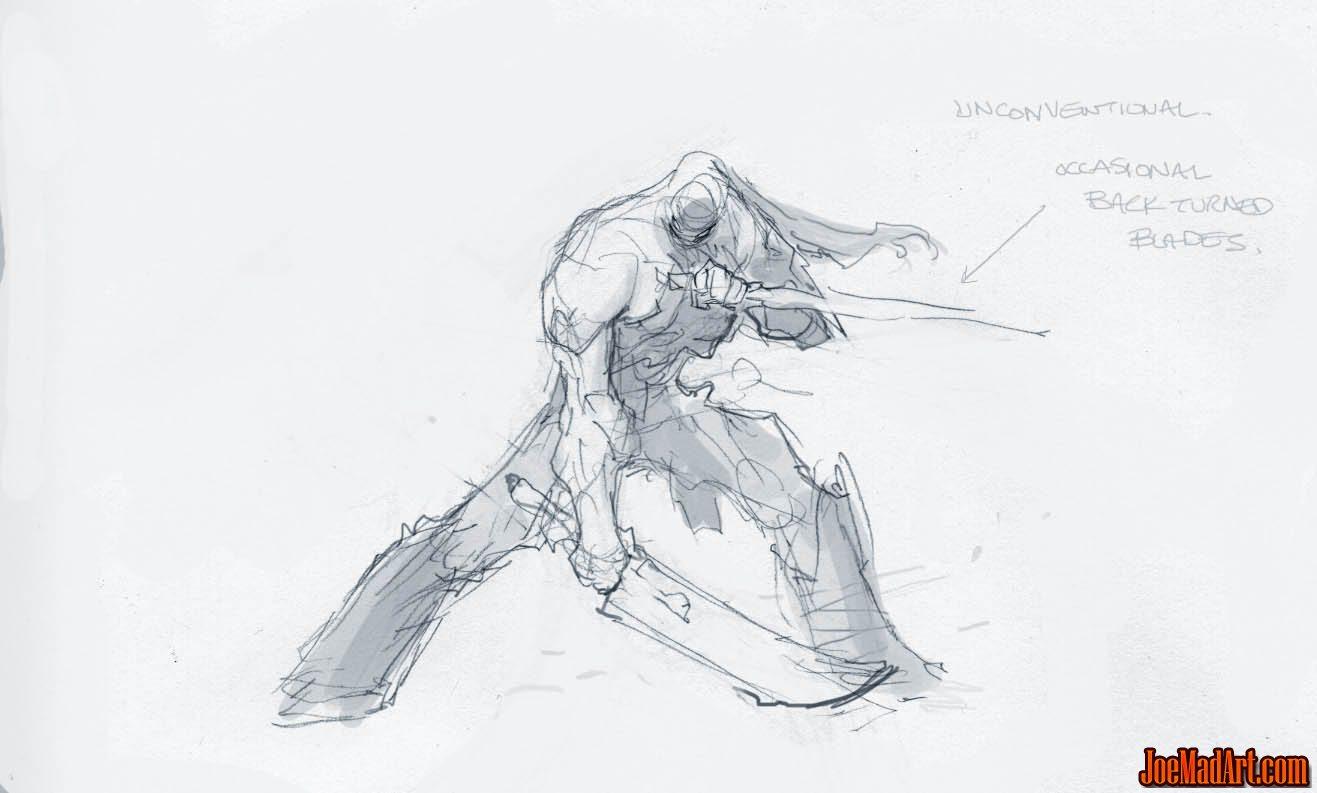 Joemadart Darksiders Ii Double Swords Idle