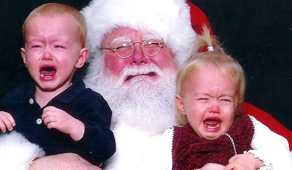 Santa Claus Tallahassee: get a shot of your little one screaming in Kris Kringle's face