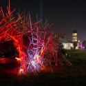 """""""Rabbit Hole"""" All Points West 2009 Jersey City in Background"""