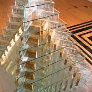 """Pyramid"" installation View detail"