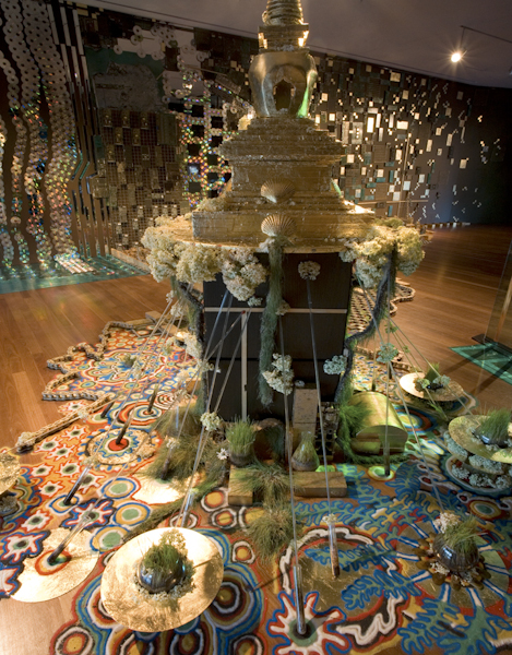 """""""City of Gold"""" de Young Museum San Francisco Fall 2007 installation View"""