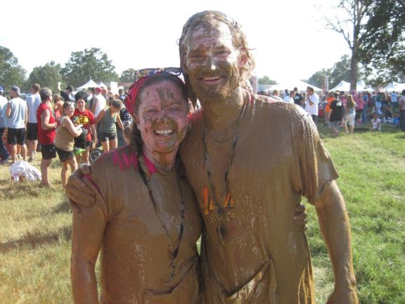 The Holmes dominated the Warrior Dash!