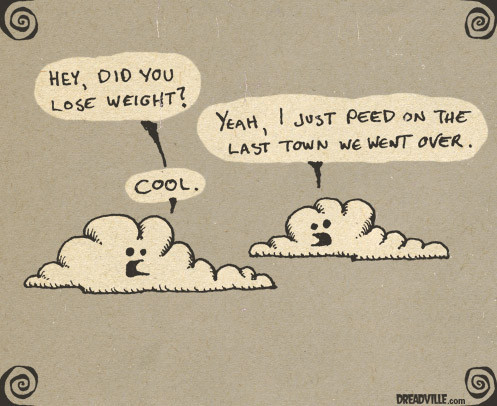 There's not enough cloud humor these days