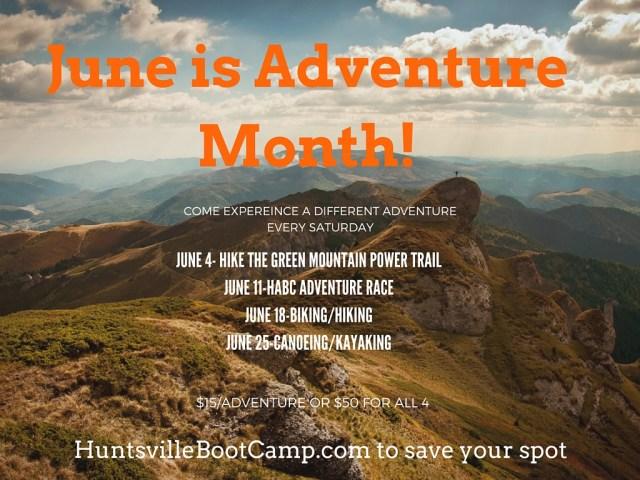 Adventure-Month