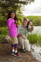 ENCON kid fishing