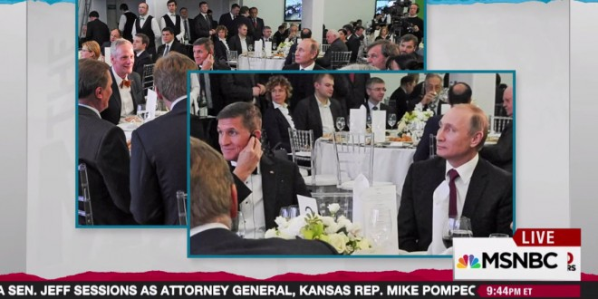 Image result for photo of flynn with putin
