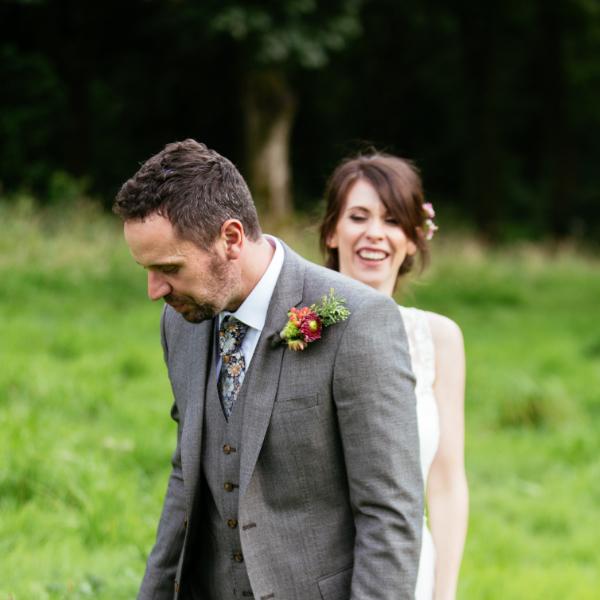 Wedding Photography – Lynsey & Michael – Spring Cottage, Rivington