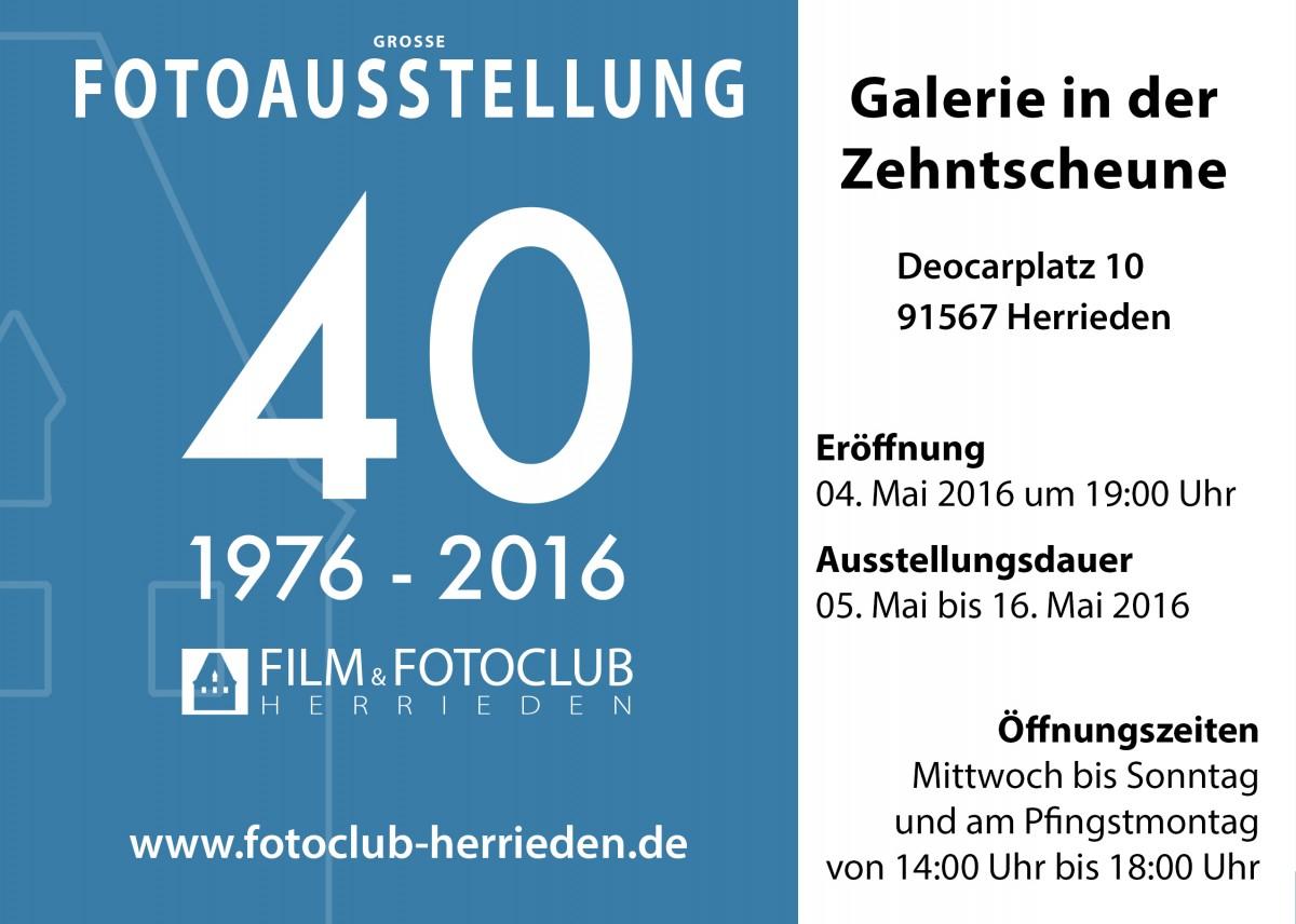 40 Jahre Fotoclub Herrieden
