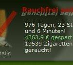 rauchfrei seit 976 Tagen