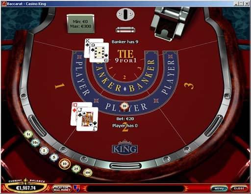 オンラインカジノのバカラとはどのようなゲーム?