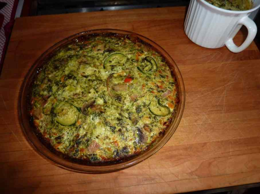 Italian Vegetable Quiche