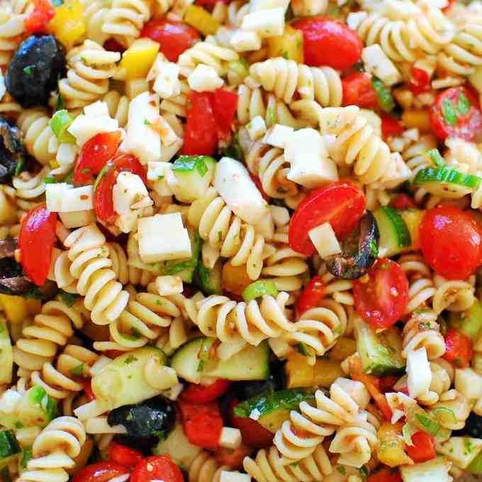 Cold Pasta Salad Joe 39 S Healthy Meals
