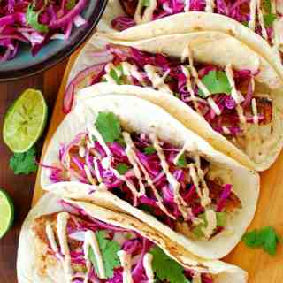 Wicked good fish tacos
