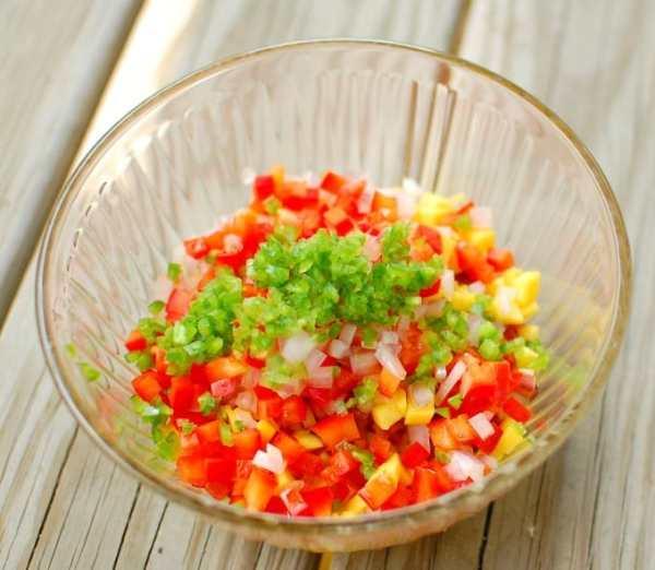 rhubarb mango salsa