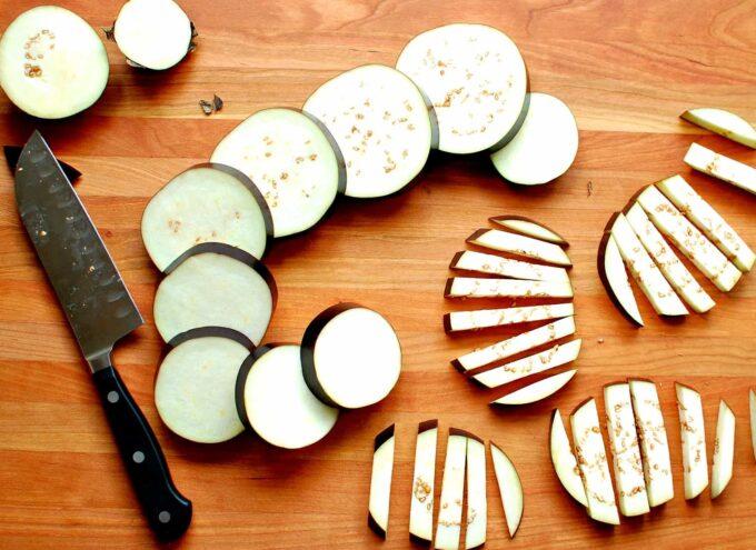 fried eggplant | joeshealthymeals.com