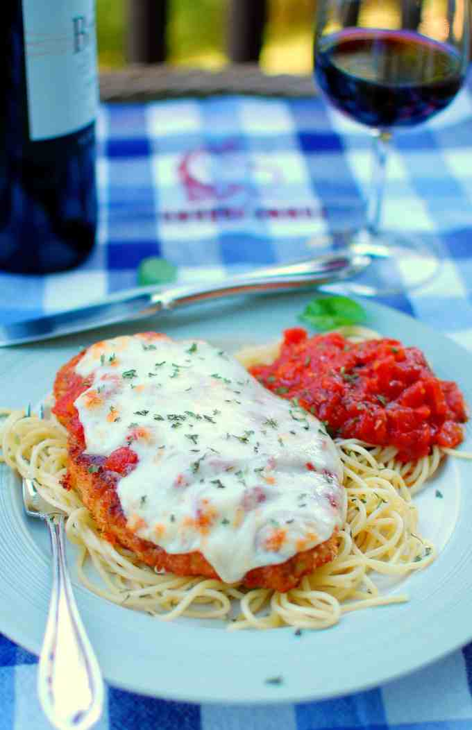 chicken parmesan | joeshealthymeals.com