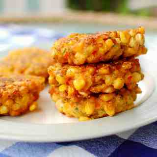 corn fritters | joeshealthymeals.com