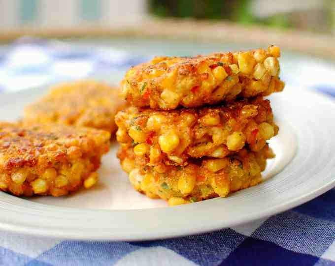 corn fritters   joeshealthymeals.com