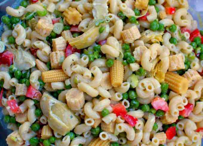 Tasty Pasta Salad | joeshealthymeals.com