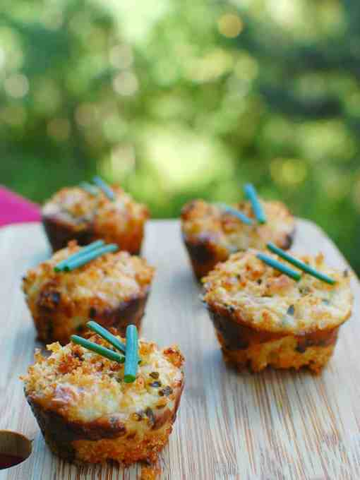mini crab cake appetizer   joeshealthymeals.com