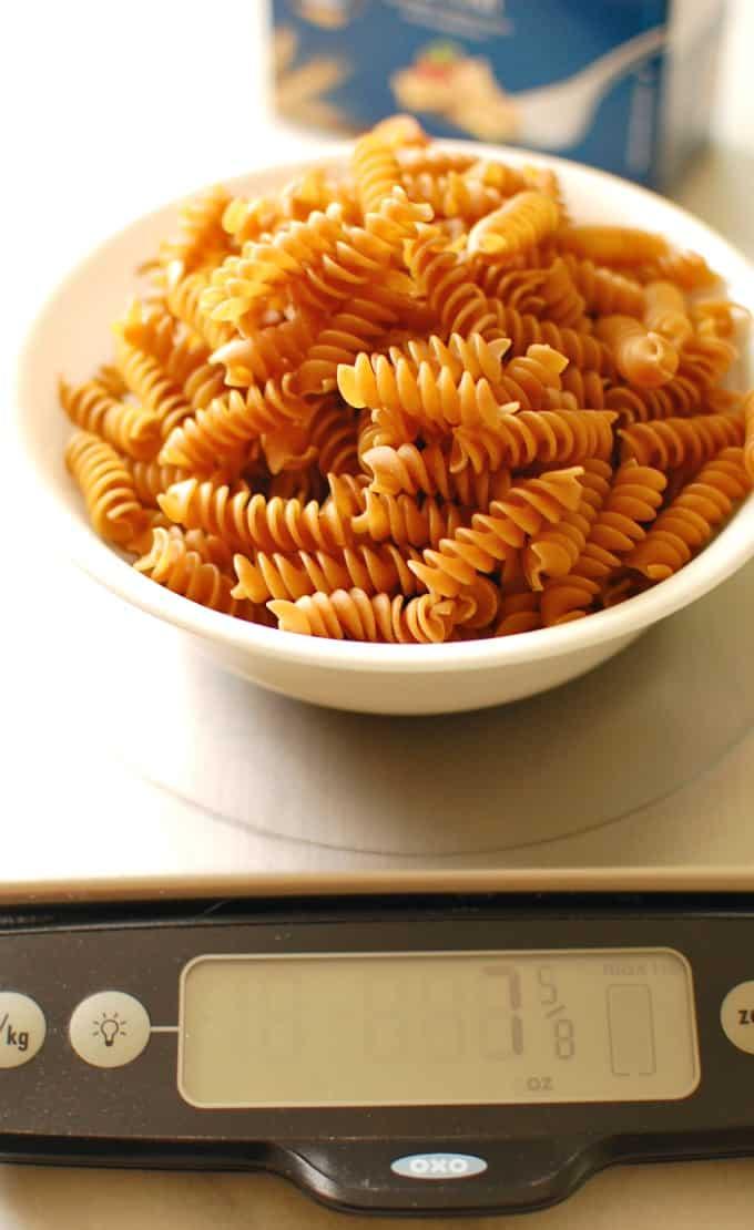 8 oz pasta