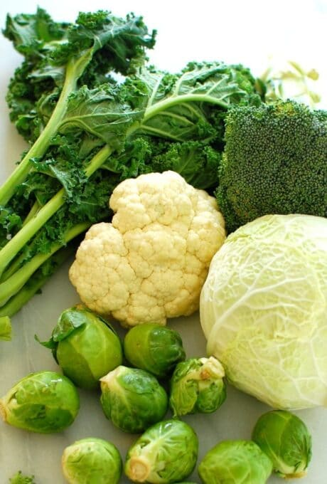 Cruciferous vegetables. Start of a healthy New Year! | joeshealthymeals.com