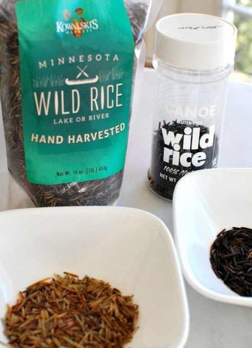 Wild harvested and hybrid wild rice.   joeshealthymeals.com