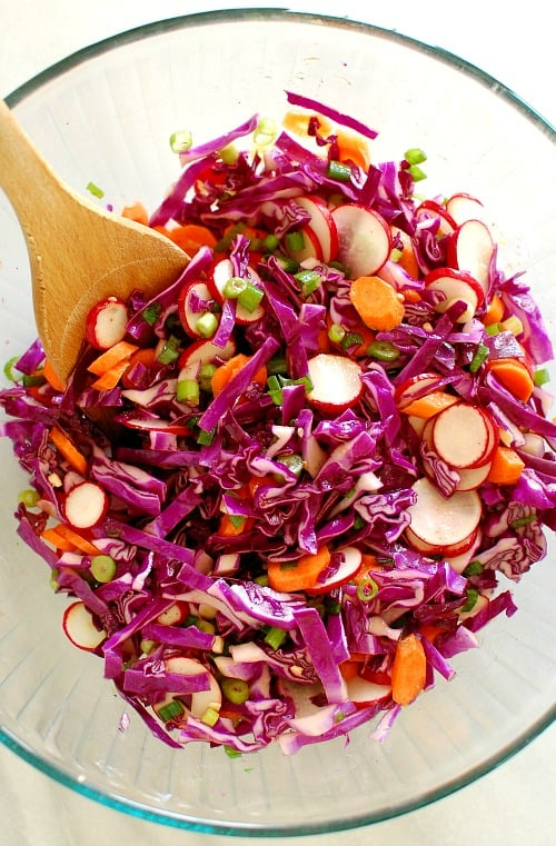 Chopped winter salad. This is a refreshing and tangy salad recipe. Perfect accompaniment to any meal.   joeshealthymeals.com