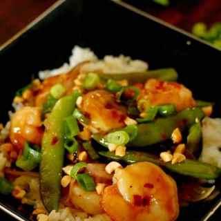 Extra Spicy Shrimp Stir Fry