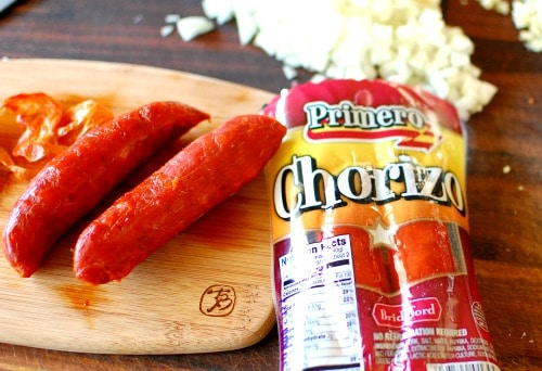 Primero chorizo package from Winn-Dixie. | joeshealthymeals.com