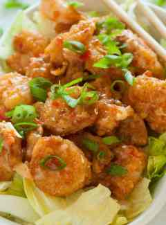 Bonefish Grill Bang bang shrimp copycat recipe. | joeshealthymeals.com