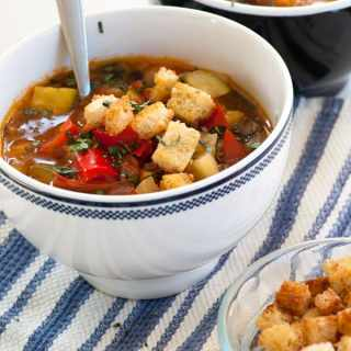Fresh Vegetable Provencal Soup
